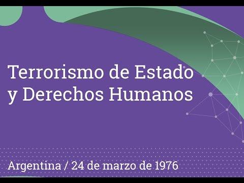Terrorismo de Estado y Derechos Humanos