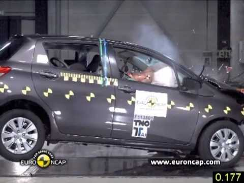2012 Toyota Yaris CRASH TEST