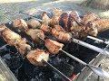 Шашлык из свинины на шампуре
