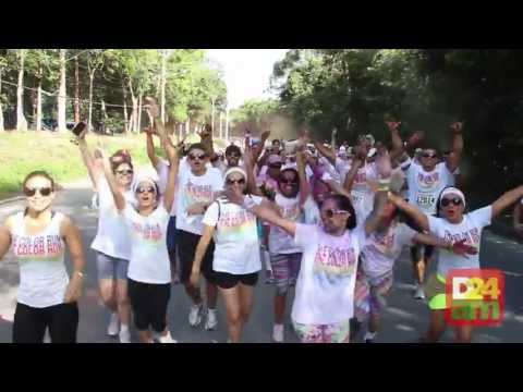 The Color Run re&#250;ne 12 mil pessoas em corrida nas ruas da Ufam, em Manaus