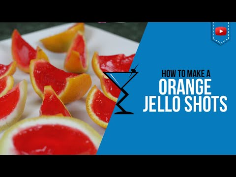 How to make Jello Shots with Oranges