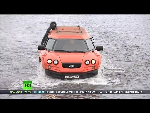 Aton Impulse Viking Amphibious Off-Road Vehicle [1080p]