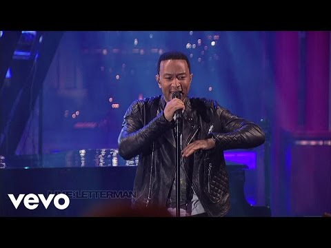 John Legend - Used To Love U (Live on Letterman)
