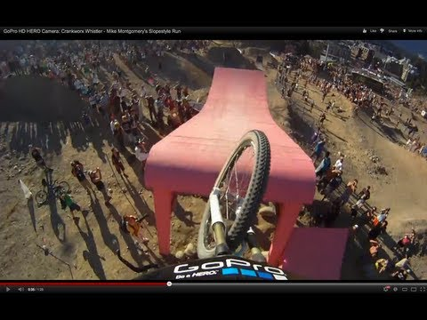 GoPro HD HERO Camera: Crankworx Whistler - Mike Montgomery-s Slopestyle Run