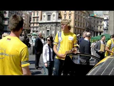 Energia solare, a Napoli l'auto senza benzina