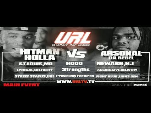 SMACK / URL Presents HITMAN HOLLA vs ARSONAL