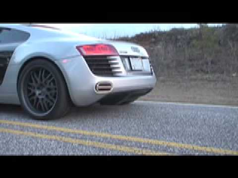 APR Audi R8 Exhaust