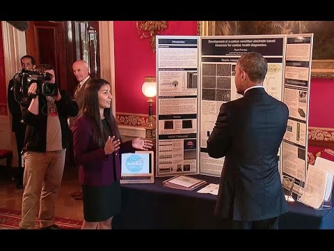 President Obama Tours the 2015 White House Science Fair Exhibits
