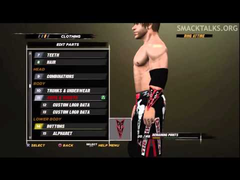 WWE '12 Chris Sabin CAW Formula by RockersLive