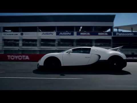 Bugatti Veyron atakuje Fuji Speedway