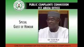 Public Complaints Commission, FCT