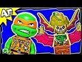 TMNT T-RAWKET Sky Strike 79120 Lego Teenage Mutant Ninja Turtles Animated Building Review