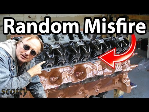 How To Fix P0300 random misfire codes in your car