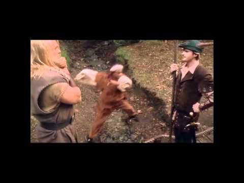 Robin Hood, Un Uomo In Calzamaglia - incontro con Little John
