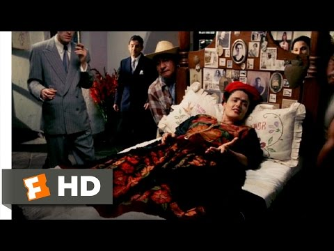 Frida (11/12) Movie CLIP - Frida's Mexican Exhibition (2002) HD