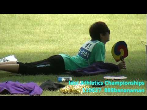 [fancam] 110827 Idol Athletics Championships Super Junior  Forcus Sungmin 4