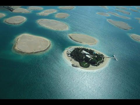 Flight over Dubai in Seawings hydroplane