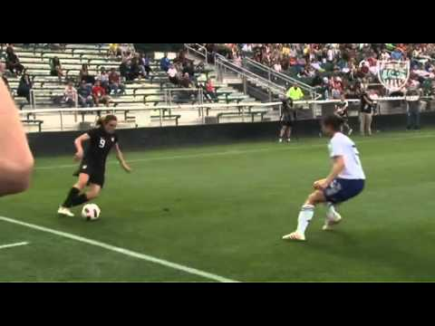 May 18, 2011: WNT 2, JPN 0 - Amy Rodriguez Goal - Field Level