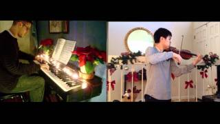A Kyle and Josh Christmas - The Christmas Song (piano, violin) FT. Josh Chiu