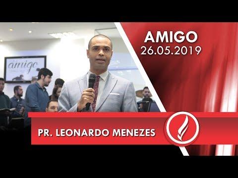 Pr. Leonardo Menezes | O importante não é o que você perdeu | Amós 3.12 | 26 05 2019