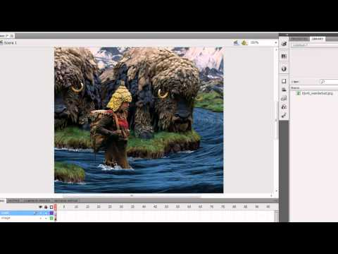 Flash Cs5: How to create a basic mask layer