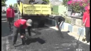 <span>Jelang Lebaran Perbaikan Jalur Mudik Di Kebut</span>