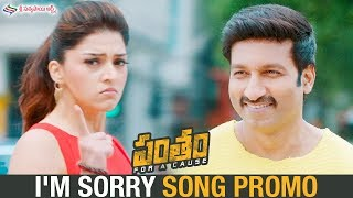 I'M Sorry Video Song Promo | Pantham