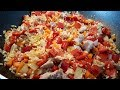 Как Приготовить Рис С Овощами И Мясом ЗА 30 МИНУТ! Секрет приготовления быстрого плова.