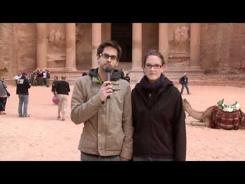 Flo & Maike in Petra