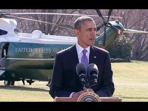 President Obama Speaks on (Ukraine)  3/20/14