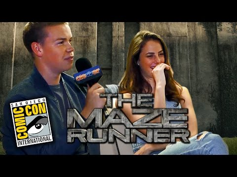 The Maze Runner Cast Talks Cuddling, The Kardashians & Jay Z - Comic-Con 2014