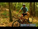 Mountain Bike Trail Riding Tips & Tricks : Tips for Mountain Biking Past Obstacles