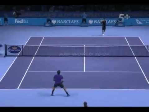 Novak Djokovic Vs Roger Federer - ATP Masters Cup London 2012 FINAL - FULL MATCH 12.11.2012