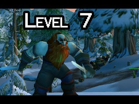Let-s Play WoW with Nilesy - Level 7 (World of Warcraft gameplay)