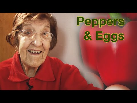 Great Depression Cooking - Peppers and Eggs (part 1)