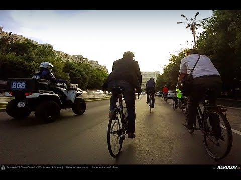 VIDEOCLIP Business pe bicicleta - Bucuresti, 24 mai 2017 [VIDEO]