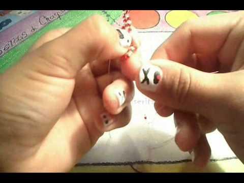 Como hacer una pulsera de chaquira