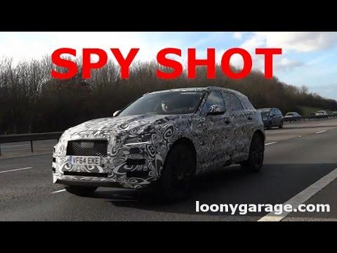 SPY SHOT 2016 Jaguar F-Pace SUV