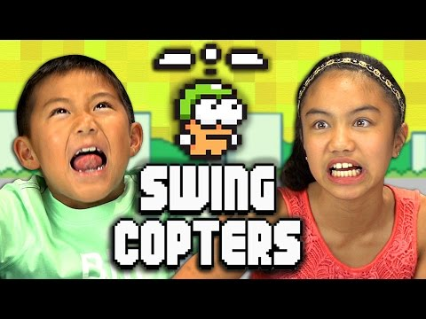 SWING COPTERS (Kids React: Gaming)