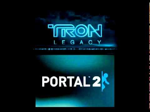 Portal 2 Vs Daft Punk: Science Is Fun vs TRON Legacy (End Titles)