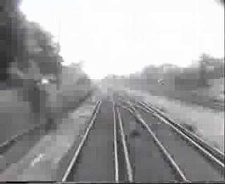 London to Brighton in 4 minutes BBC interlude