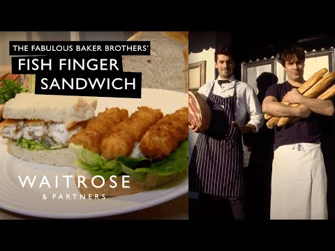 The Fabulous Baker Brothers fish finger sarnie - Waitrose
