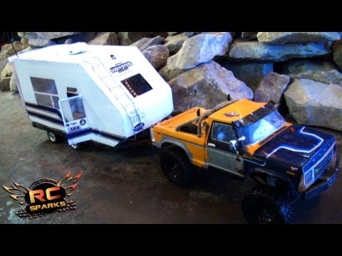 RC ADVENTURES - SCALE CAMPER & 4X4 TRUCKS! Rude Boyz RC Club