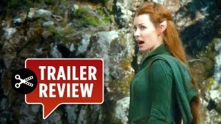 Instant Trailer Review - The Hobbit: The Desolation of Smaug TRAILER (2013) - Lord of the Rings Movie HD