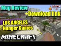 MINECRAFT - PS3 - LOS ANGELES HUNGER GAMES - MAP REVIEW + DOWNLOAD LINK ( PS4 ) TU20 SERVER