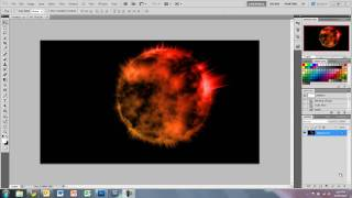Photoshop Tutorial - Awesome Exploding Planet Effect