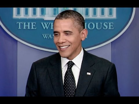 President Obama Holds a News Conference -PBRqRl6RbDM