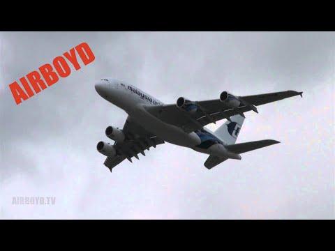 Airbus A380 Farnborough 2012 (Tuesday)