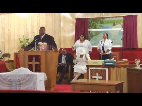 (Amputee) Elderly Black Preacher BK SBK Prosthetic (amputee)