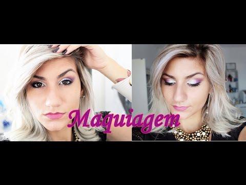 Maquiagem - Uma opção para usar em festas, tirar fotos, eventos etc..